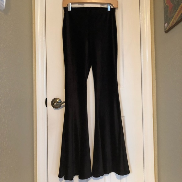 cb319f8476e Forever 21 Pants - Forever 21 velvet bell bottom pants